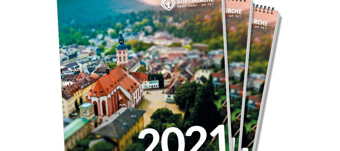 Jahreskalender der Stiftskirche 2021